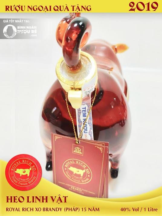 Rượu lợn 2019 - Mua rượu heo pháp XO tại tphcm